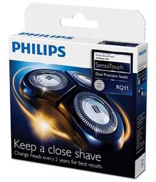 Têtes de rasage compatibles avec rasoirs Philips Sensotouch 2D RQ11/50