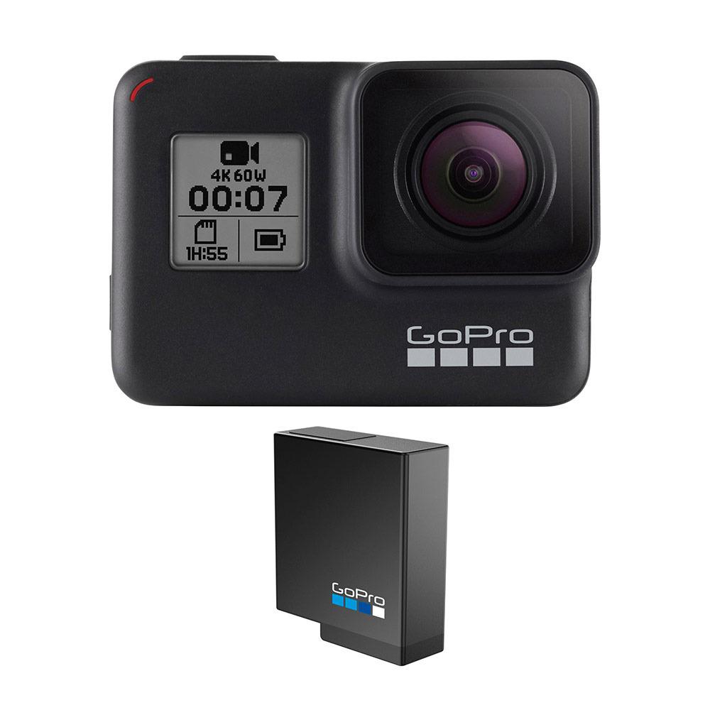 Caméra embarquée Gopro hero 7 Reconditionnée + 1 batterie (189.65€ avec le code 10APP21)