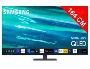 "TV 65"" Samsung QE65Q80A (via ODR de 200€)"