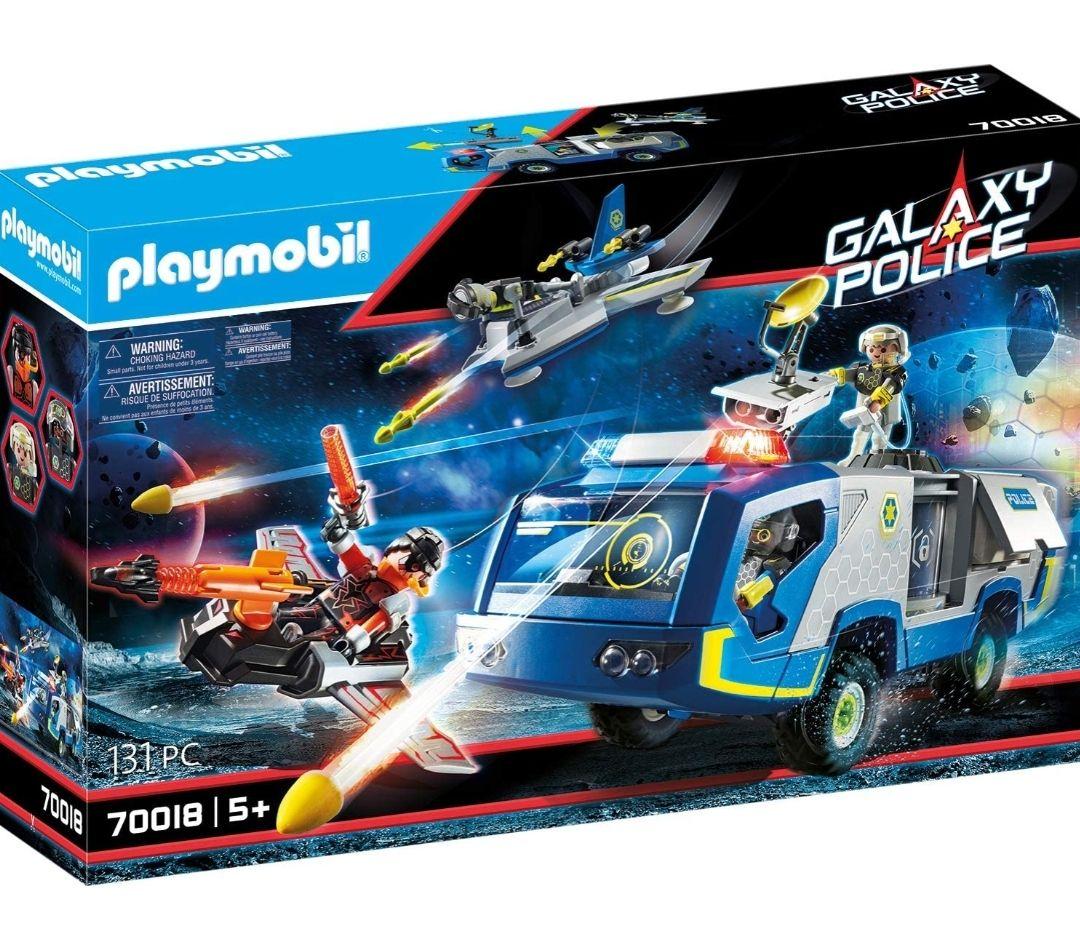 Jouet Playmobil Véhicule des Policiers de l'Espace n°70018