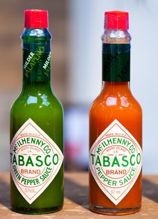 2 bouteilles de Sauce pimentée Tabasco - Différentes Variétés, 2 x 60ml (via BDR)