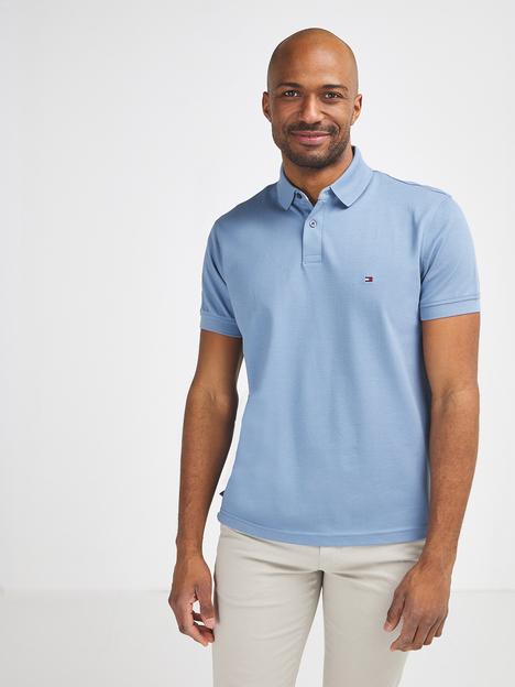 Polo en piqué coton Tommy Hilfiger Stretch pour Homme - Tailles S à XL