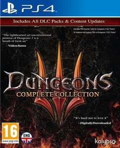 Jeu Dungeon 3 complete edition sur PS4