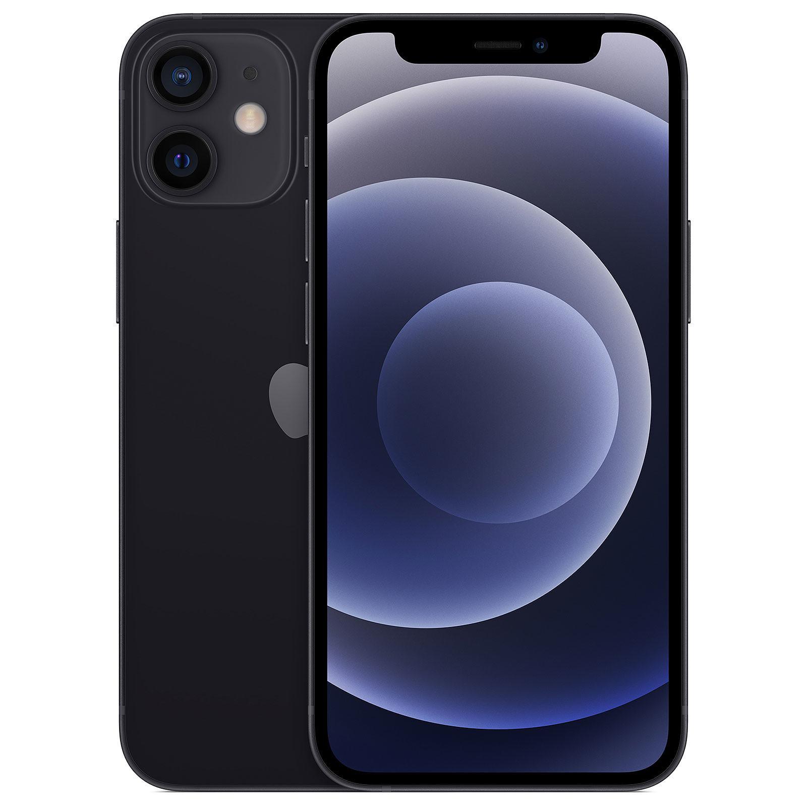 "Smartphone 5.4"" iPhone 12 mini - 64 Go, Noir, Occasion"