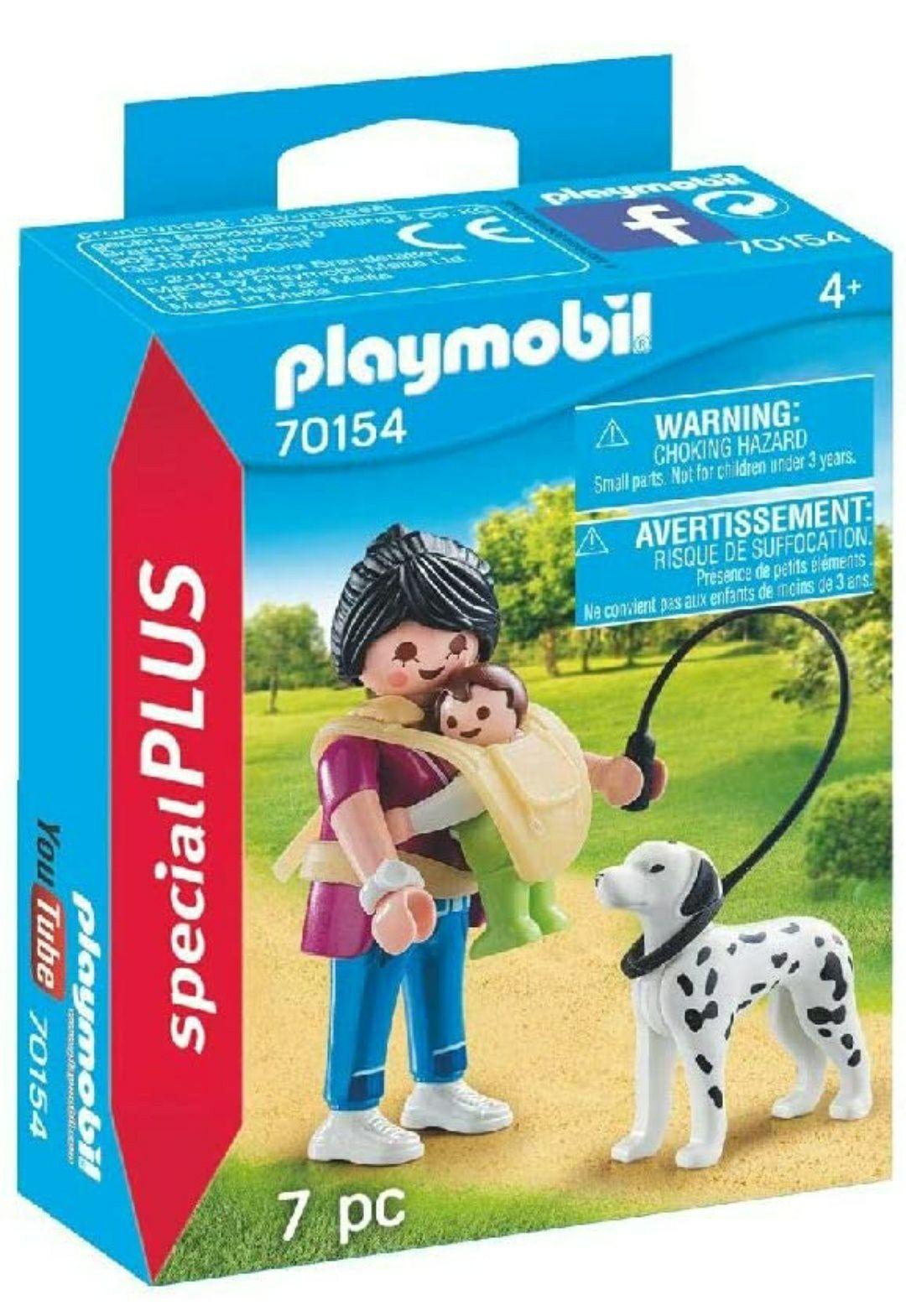 Sélection de Jouets Playmobil en promotion - Ex : Maman avec Bébé et Chienn°70154