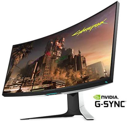 """Ecran PC 34"""" Dell Alienware AW3420DW - Incurvé, WQHD"""