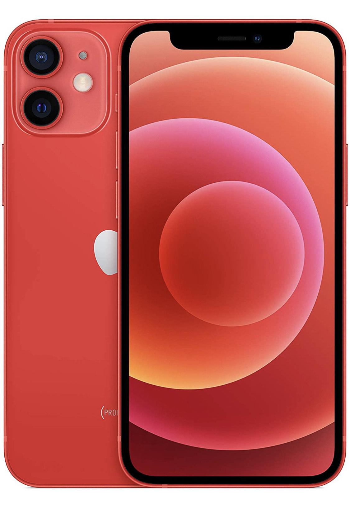 "Smartphone 5.4"" Apple iPhone 12 Mini - 64 Go, Rouge"