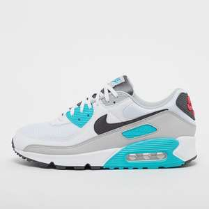 Baskets Nike Air Max 90 - tailles: 41 et 43 (white/iron grey/chlorine blue)