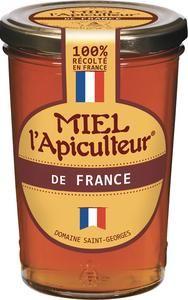 Lot de 2 pots de 500g de Miel l'Apiculteur de France - Liquide ou Crémeux (2x 500g)