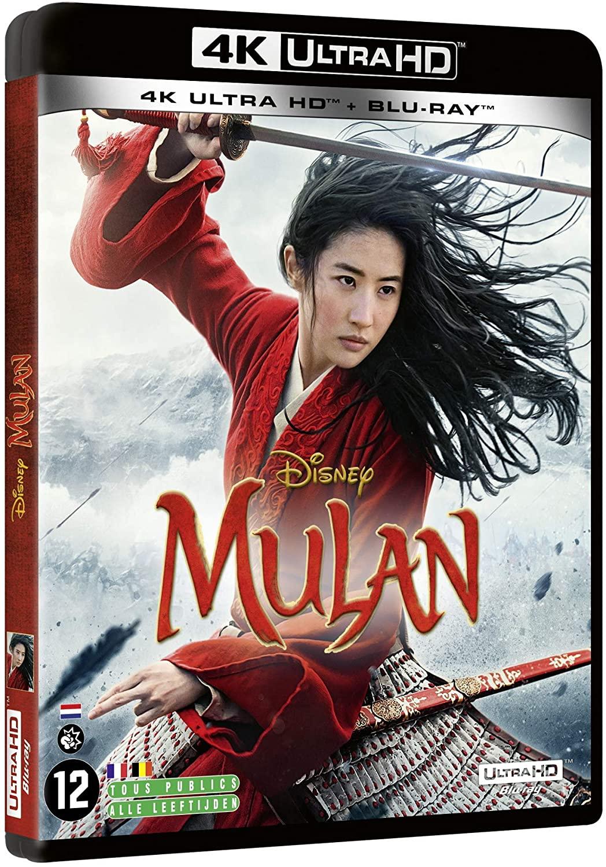 Blu-Ray 4K UHD + Blu-Ray Mulan - Live Action