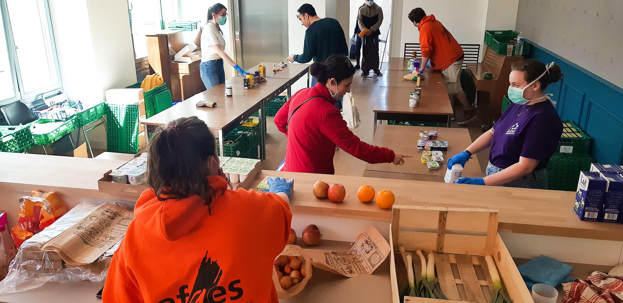 [Étudiants] Distribution gratuite de denrées alimentaires - Strasbourg (67)