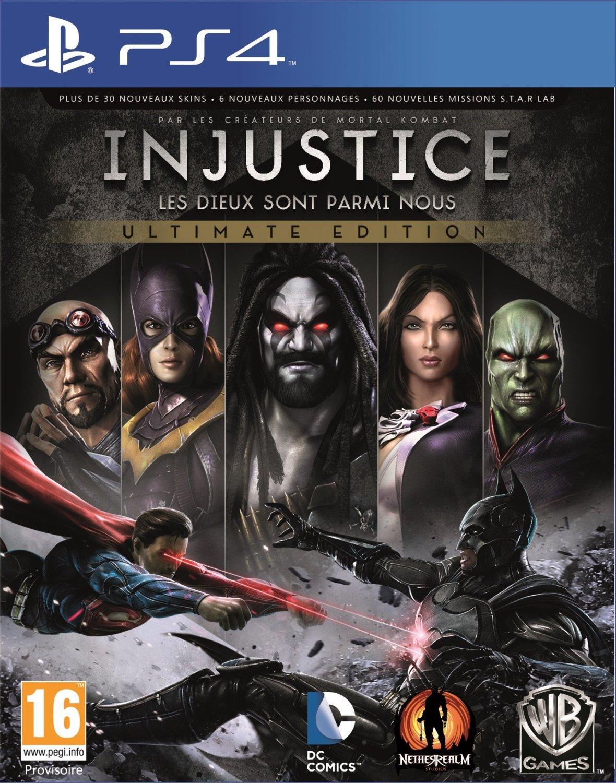 Injustice : les Dieux sont parmi nous - Ultimate Edition sur PS4