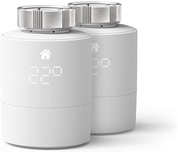 Lot de 2 Têtes Thermostatiques Connectées et Intelligentes Tado Duo Pack
