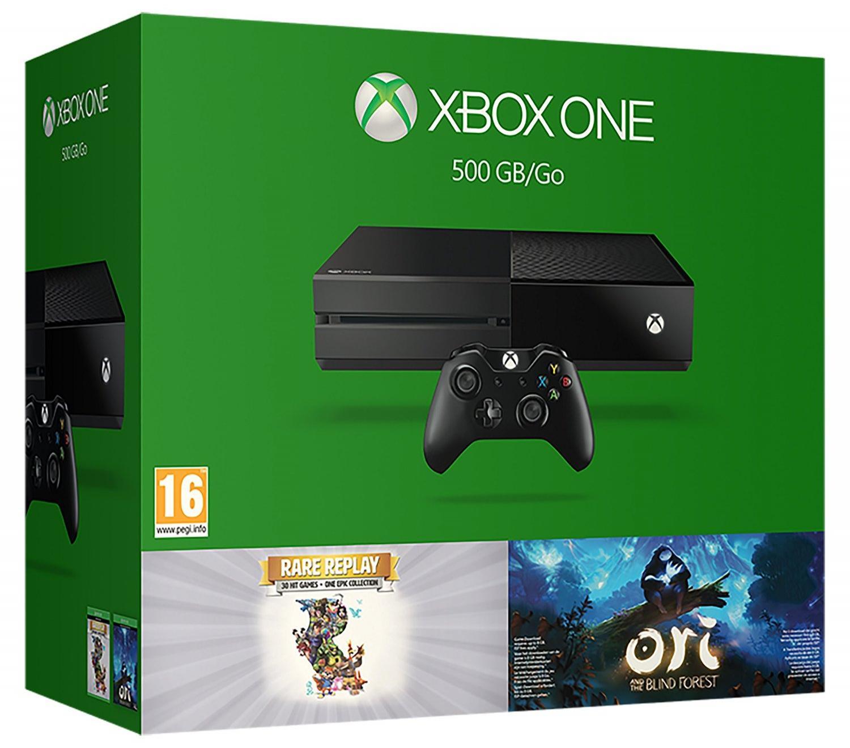 Pack Console reconditionnée Xbox One 500 Go + Ori (Dématérialisé) et Rare Replay