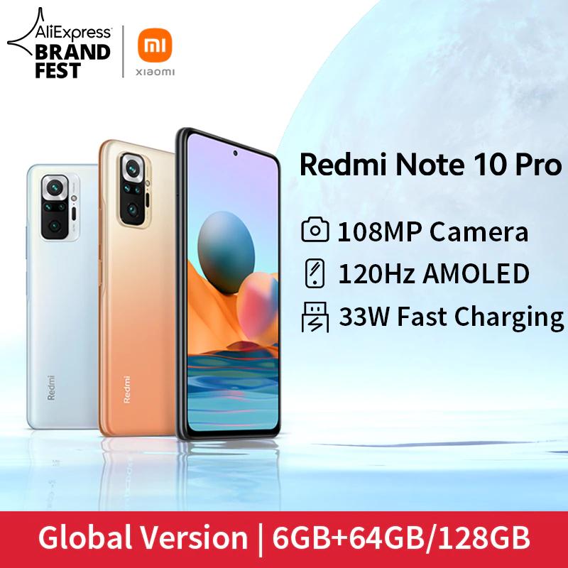"""Smartphone 6.67"""" Xiaomi Redmi Note 10 Pro 8 GO Special Edition - 128Go"""