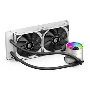 Kit de watercooling Deepcool Castle 240EX Blanc - 240mm