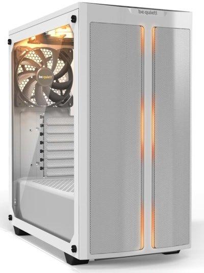 Boitier PC Be Quiet! Pure Base 500DX Blanc - ATX, Mesh, Verre trempé