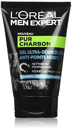Gel ultra-désincrustant anti-points noirs Homme L'Oréal Men Expert Pur Charbon - 100 ml