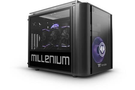 Tour PC Millenium MM2 Mini Malphite - Ryzen 5-3600, 16 Go RAM, 240 Go SSD + 1 To HDD, RTX 3070 8 Go, Windows 10