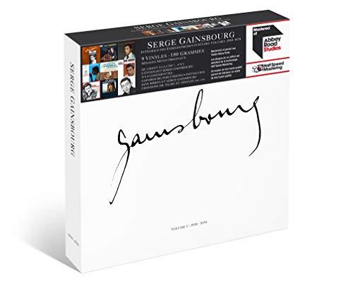 Coffret Vinyles Serge Gainsbourg Intégrale Volume 1 (9 LP)