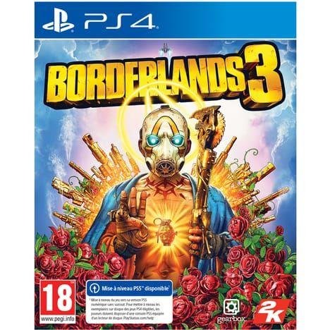 Borderlands 3 sur PS4 (retrait magasin)