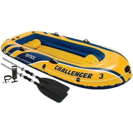 Bateau gonflable Intex Challenger 3 - 2 places avec rames et gonfleur