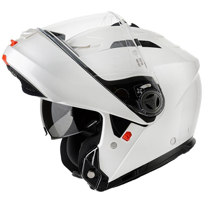 Casque Moto Modulable Airoh Phantom Silver - Thermoplastique, écran Pinlock, Boucle micrométrique (taille au choix)
