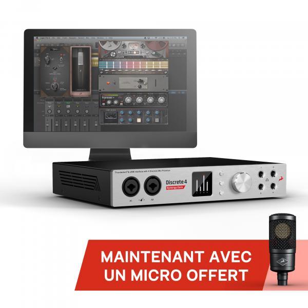Interface Audio Antelop Synergy Core Discrete 4 + Microphone à condensateur Edge (stars-music.fr)