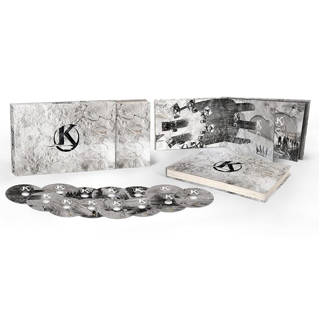 Coffret 13 Blu-ray Kaamelott - Les Six Livres - L'intégrale de la série (+ 15.74€ en Rakuten Points)