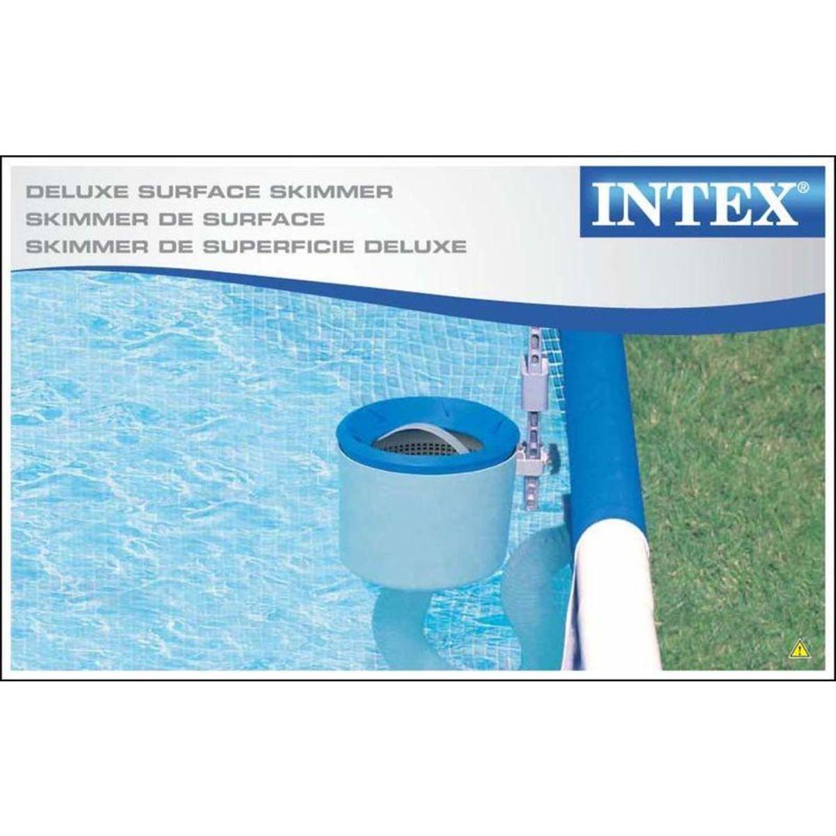 Skimmer de surface pour piscine Intex Deluxe 28000E - Chateaugiron et Pleumeleuc (35)