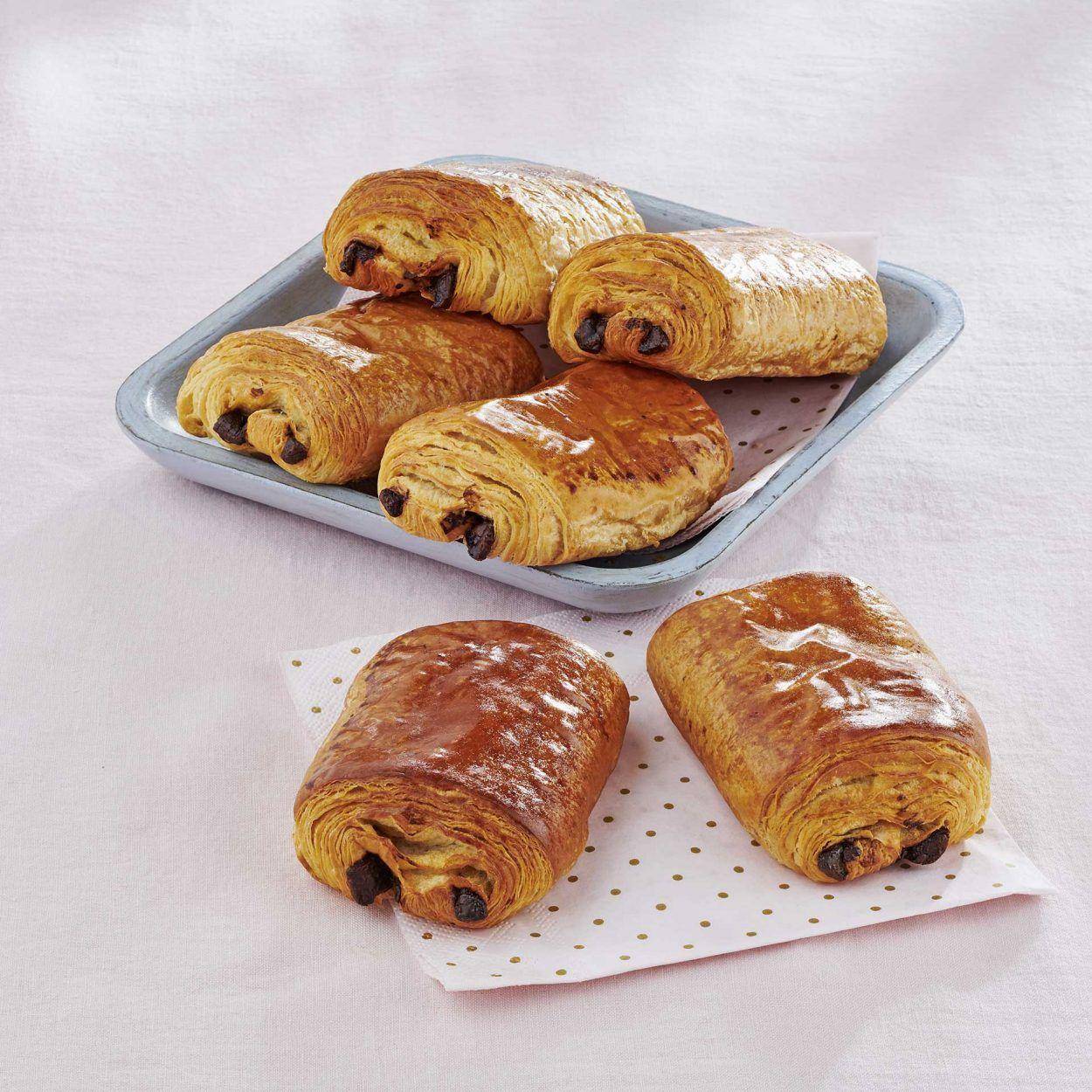 Lot de 6 pains au chocolat pur beurre cuits du jour - 360 g