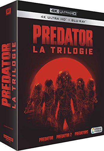 Coffret Bly-Ray 4K UHD + Blu-Ray Predator : La Trilogie