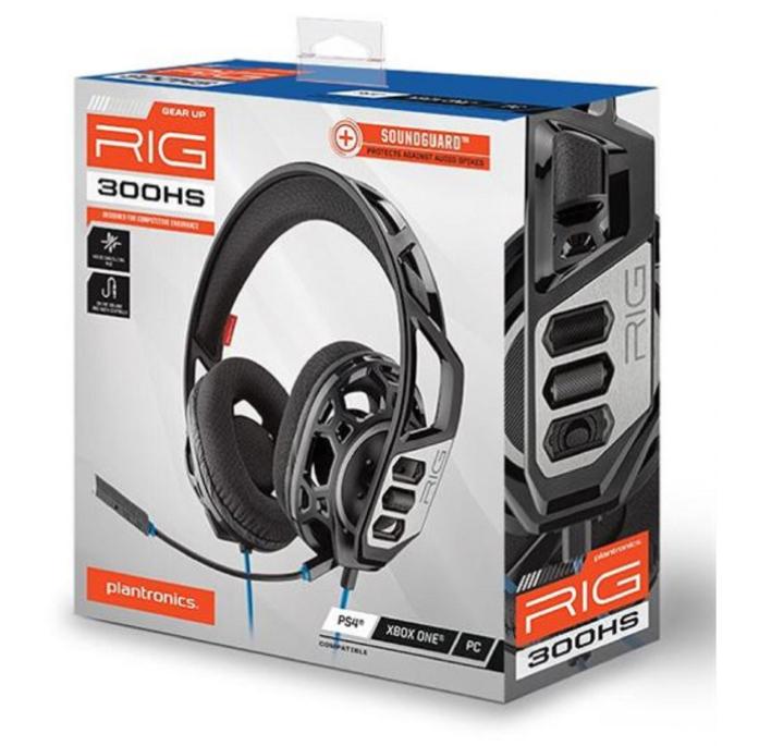 Casque gaming Plantronics RIG 300HS pour PS4 - Noir