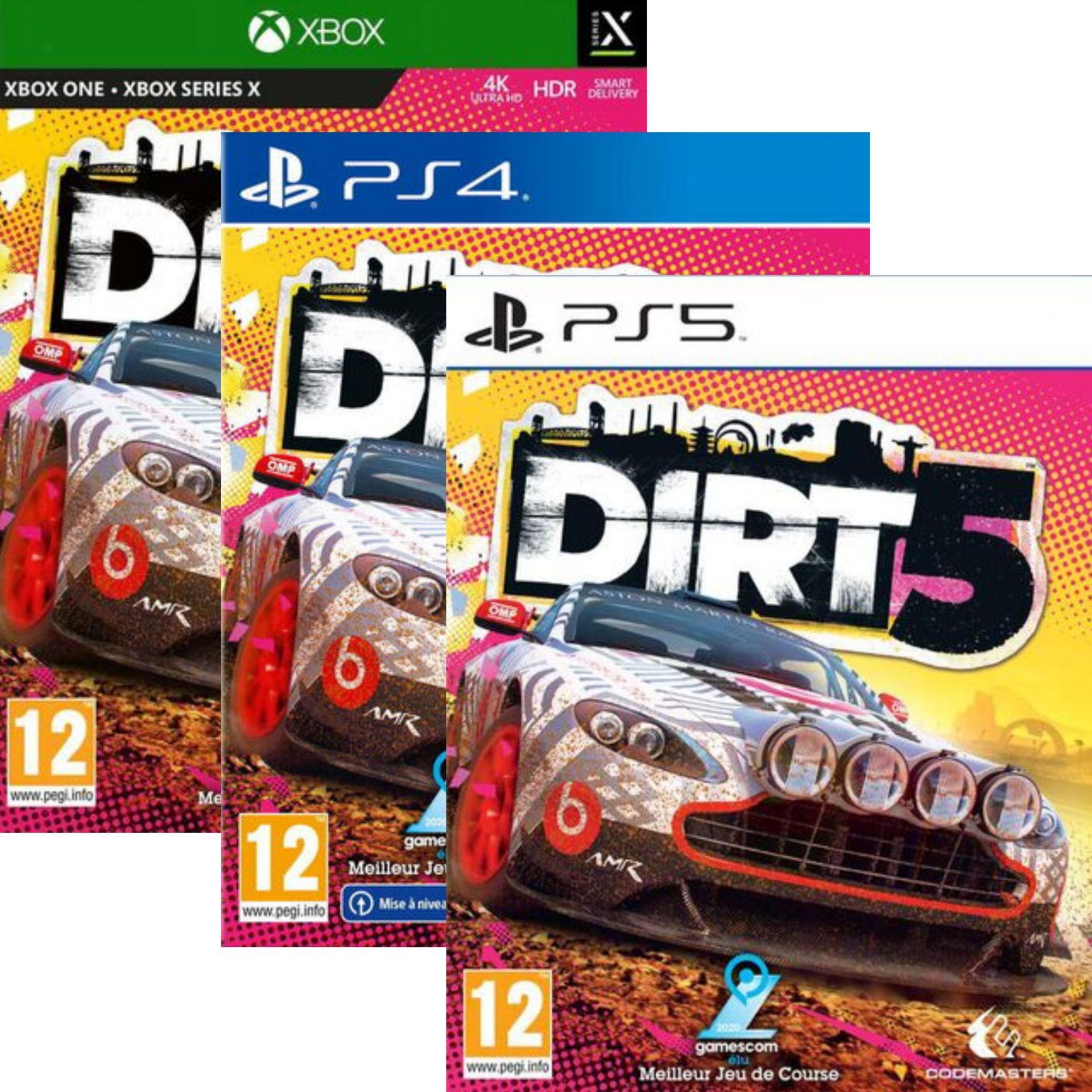 Dirt 5 sur PS4, PS5 ou Xbox One / Series