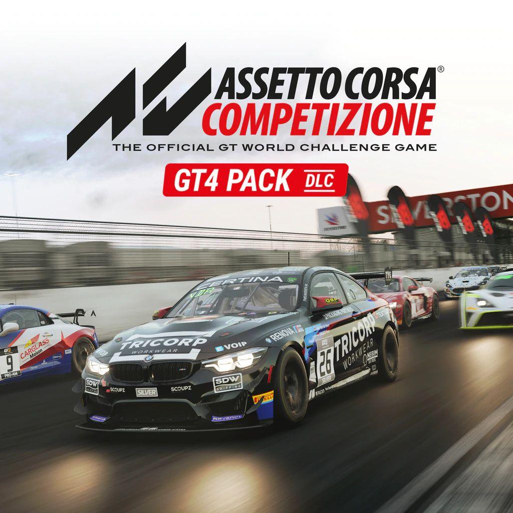 DLC Assetto Corsa Competizione GT4 Pack sur PC (Dématérialisé - Steam)