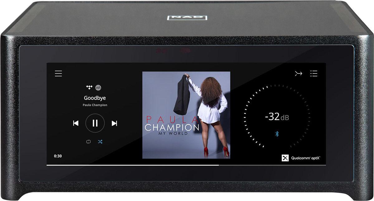 Amplificateur Hi-Fi réseau NAD M10 - 2 x 100W @4 & 8 Ohms
