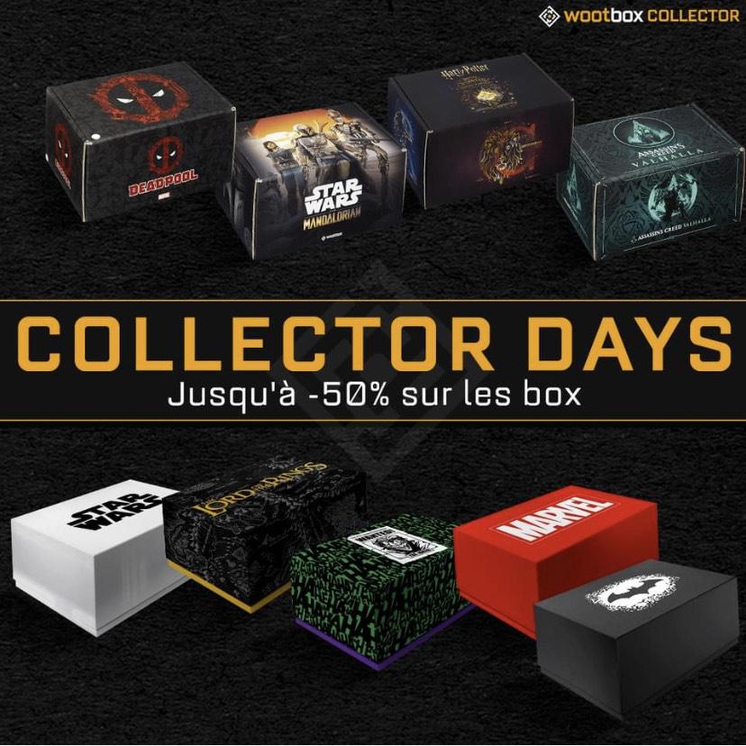 Sélection de box collectors en promotion