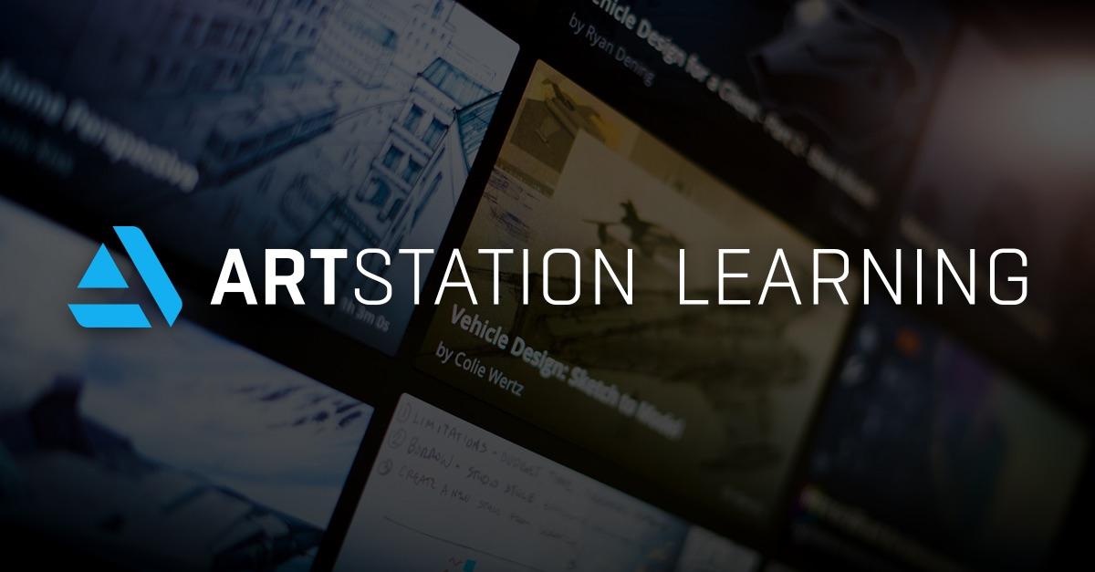 Cours en ligne ArtStation Learning gratuits (Dématérialisé - en Anglais) - artstation.com