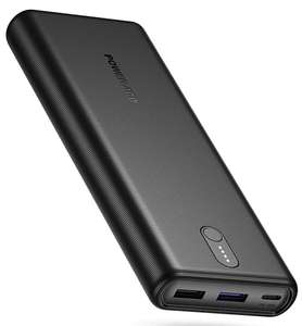 Batterie Externe Poweradd - 20000mAh, USB C Power Delivery 18W, trois sorties: 5V/3A, 9V/2A, 12V/1.5A (vendeur tiers)