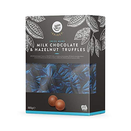 Truffes au chocolat au lait et noisettes Happy Belly Select - 665g