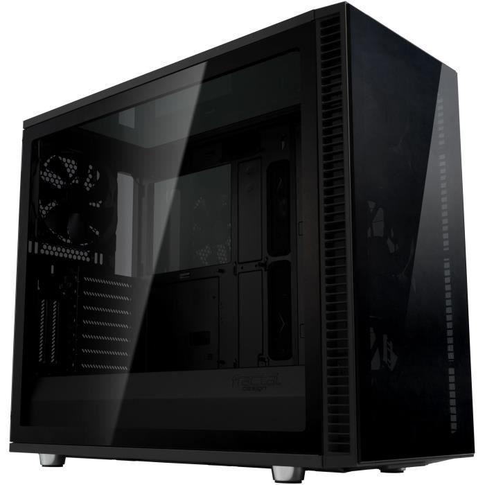 Boîtier tour PC Fractal Design Define S2 Vision Blackout - Verre Trempé