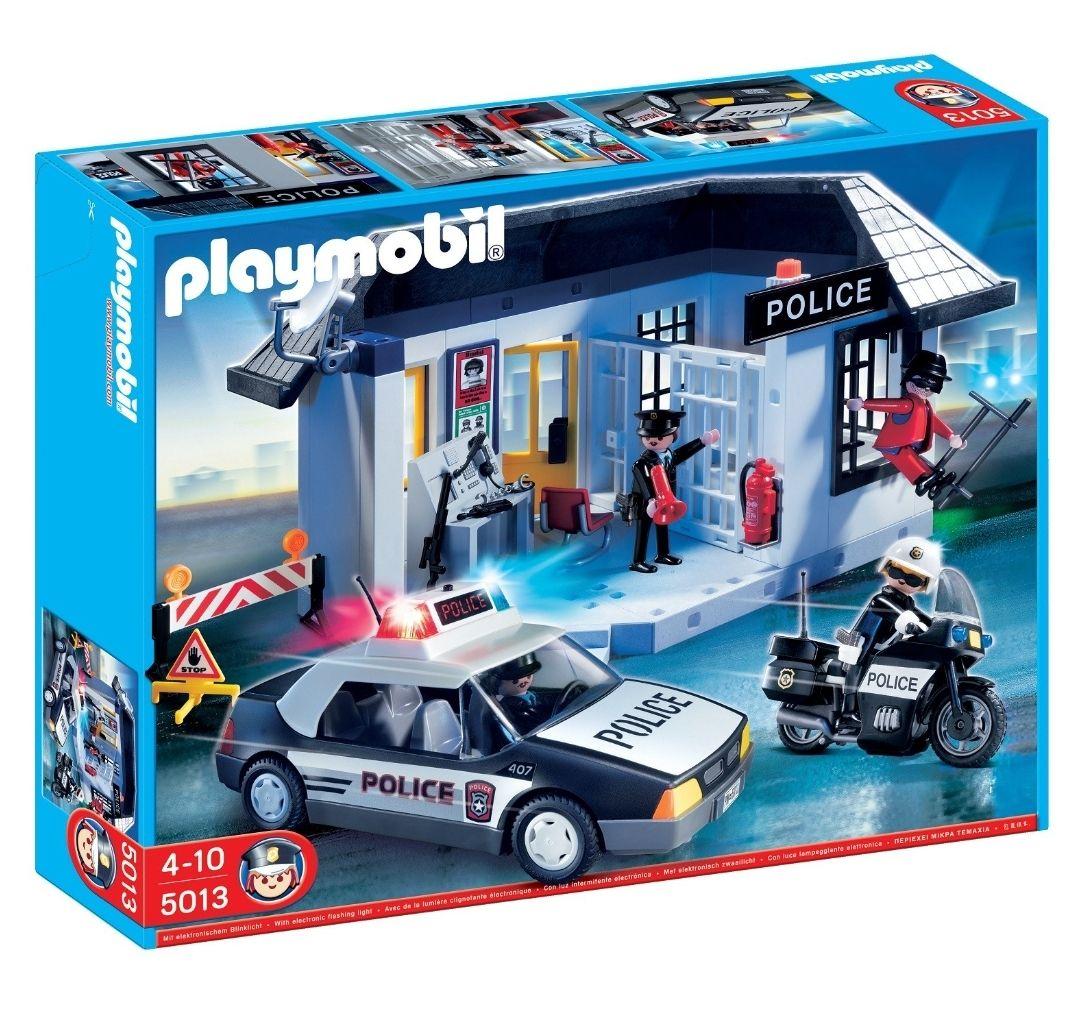 Jouet Playmobil 5013 - Commissariat et Véhicule de Police (Via 27.96€ sur la carte fidélité)
