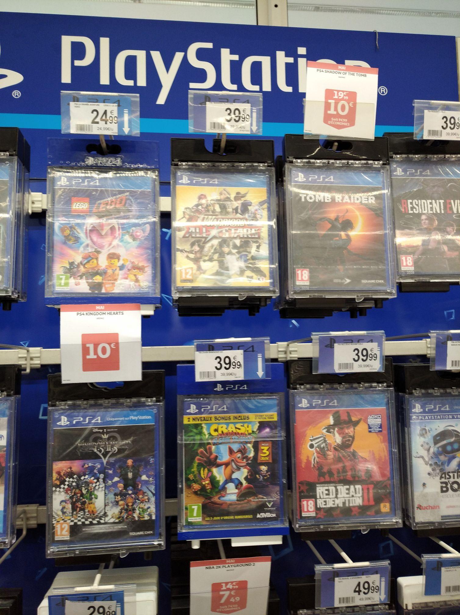 Sélection de jeux vidéo PS4 à 10€ - Montauban (82)