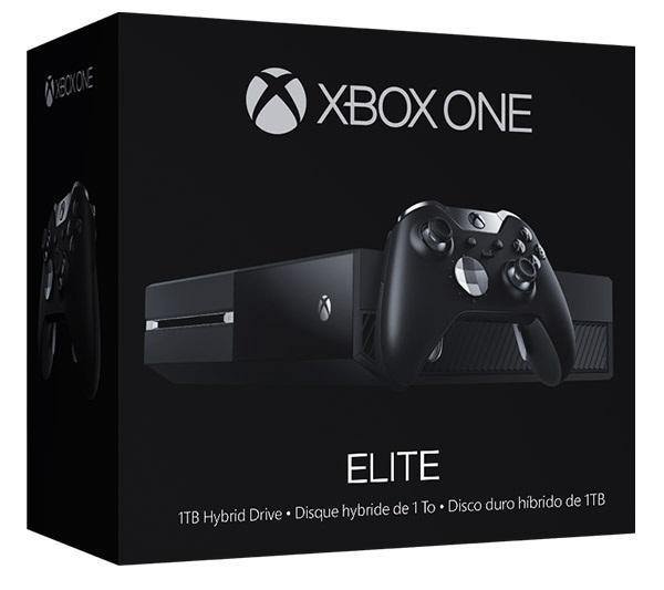 Console Xbox One Elite - SSHD 1To + 2ème Manette (Prise Jack)