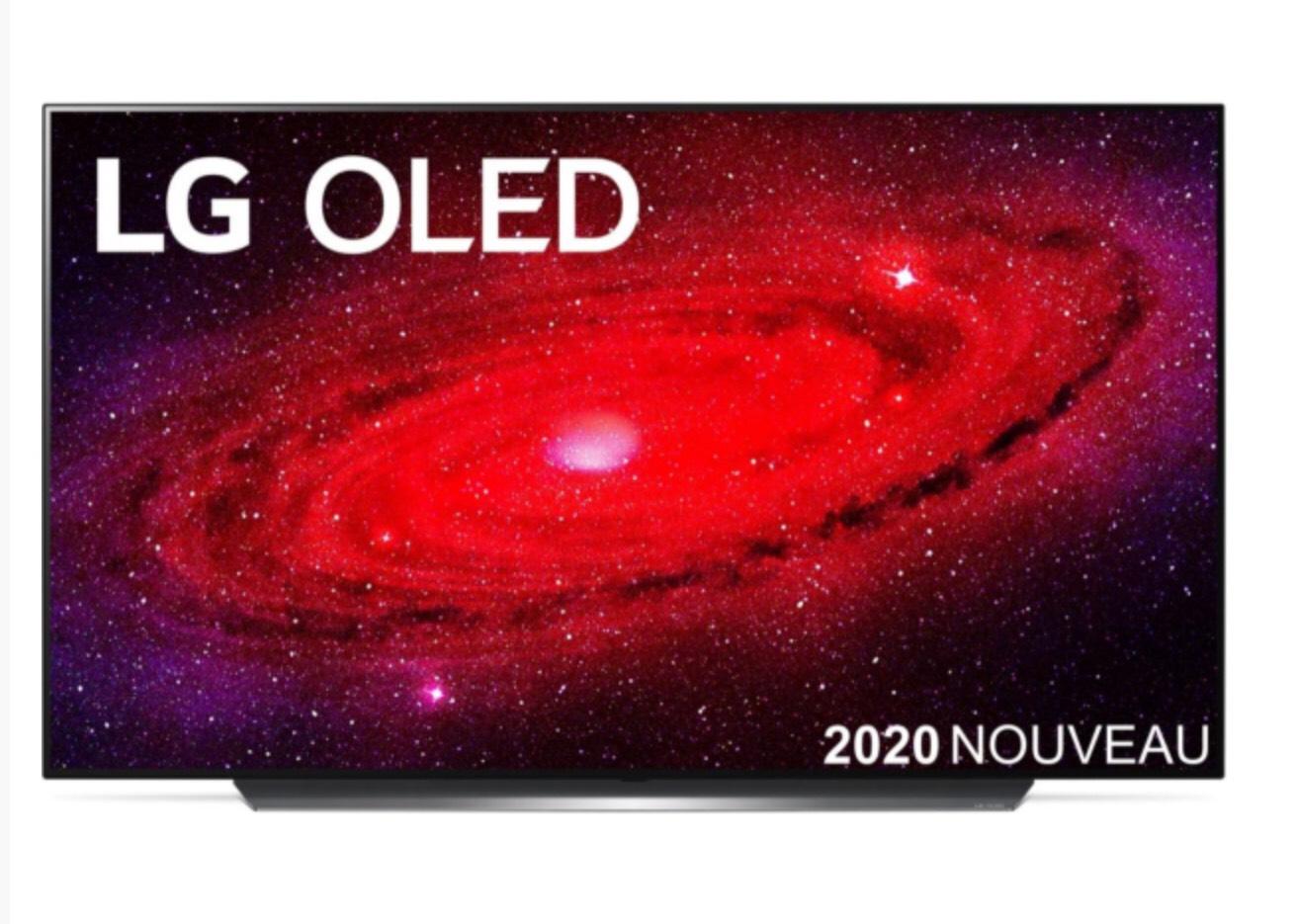 "TV 65"" LG OLED65CX6 - 4K UHD, OLED, Smart TV, Dolby Vision IQ"