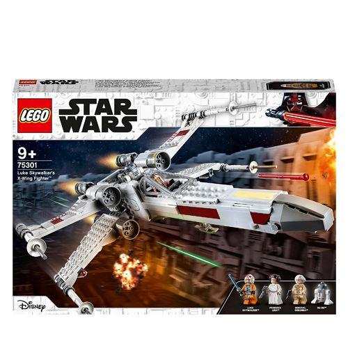 20% de remise sur une sélection de LEGO Star Wars - Ex : X-Wing Fighter de Luke Skywalker (75301)