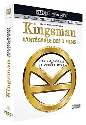 Coffret Blu-ray 4K Kingsman : Services secrets + Kingsman 2 : Le Cercle d'Or