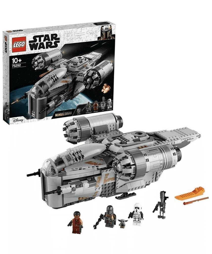 Sélection de produits Lego en promotion - Ex : Star Wars The Mandalorian - Le vaisseau du chasseur de primes 75292 + Clé Disney Star Wars