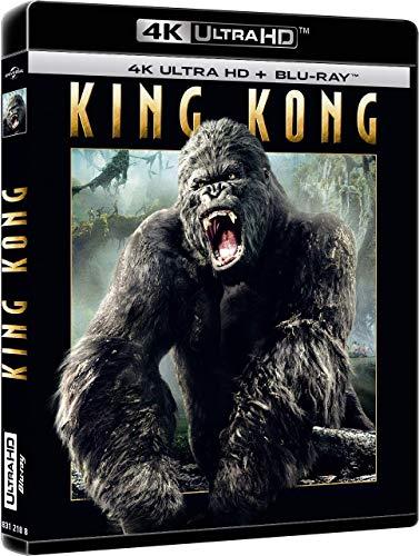 Film Blu-ray 4K King Kong (4K Ultra HD + Blu-ray)