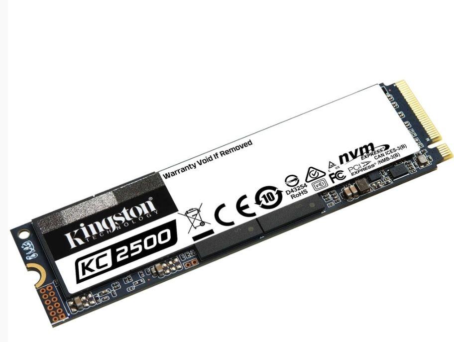 SSD NVMe Interne M.2 Kingston KC2500 (SKC2500M8/500G) - 500 Go